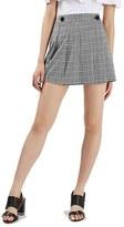Topshop Women's Houndstooth Miniskirt