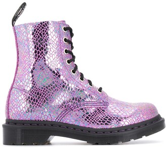 Dr. Martens 1460 Metallic Lace-Up Boots