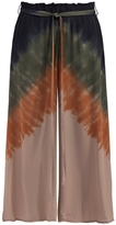 Raquel Allegra Silk Wide Leg Pants