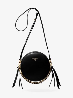 MICHAEL Michael Kors Delancey Medium Leather Canteen Crossbody Bag
