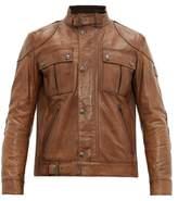 Belstaff - Gangster Leather Jacket - Mens - Tan