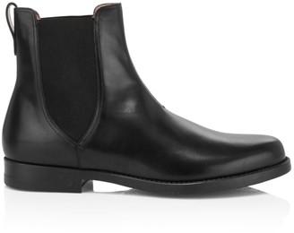 Salvatore Ferragamo Tom Leather Chelsea Boots