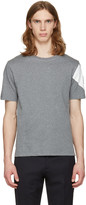 Moncler Gamme Bleu Grey Sleeve Detail T-shirt