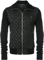 Dolce & Gabbana textured bomber jacket