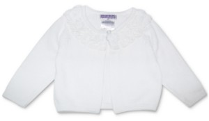 Blueberi Boulevard Baby Girls Cardigan Sweater