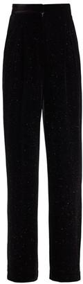 retrofete Mary Lurex Stripe Velvet Pants