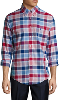 Brooks Brothers Niox Large Check Sportshirt