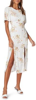 MinkPink Floral Beauty Midi Dress