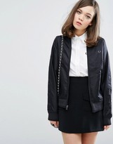 Fred Perry Authentic High Shine Lightweight Bomber
