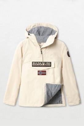 Napapijri White Rainforest Winter Jacketet - Small