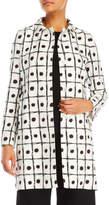 Mantu Printed Single-Breasted Coat