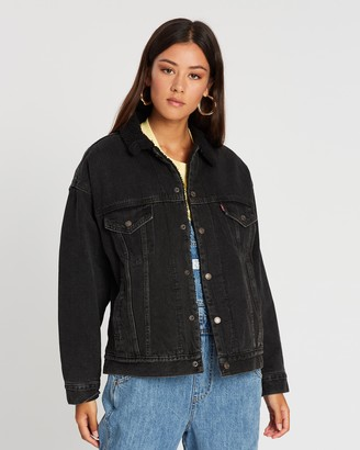 Levi's Dad Sherpa Trucker