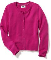 Old Navy Uniform Button-Front Cardi for Girls