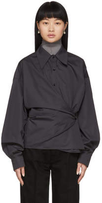 Lemaire Grey New Twisted Shirt