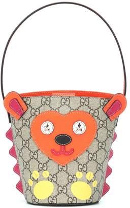 Gucci Kids GG Hedgehog bucket bag