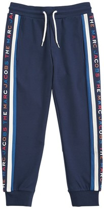 Little Marc Jacobs Logo Viscose Blend Track Pants