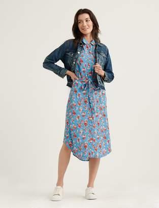 Lucky Brand Chelsea Utility Midi Dress