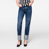 Paul Smith Women's Japanese Mid-Wash Turn-Up Jeans