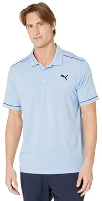 Puma Rancho Polo (Blue Bell Heather) Men's Clothing