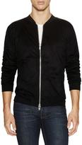 BLK DNM Men's Front Zip Up Sweatshirt