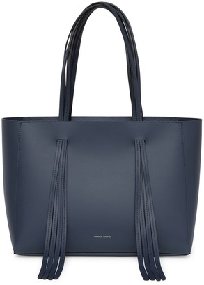 Mansur Gavriel Calf Fringe Bag - Blu