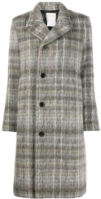 Stephan Schneider Plaid Double-Breasted Wool Coat