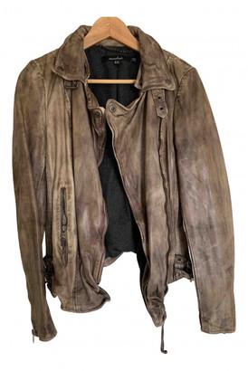 Muu Baa Muubaa Brown Leather Jackets