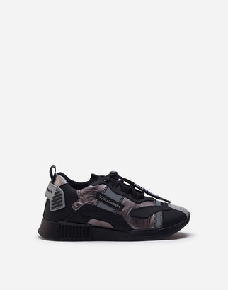 Dolce & Gabbana Ns1 Sneakers In Laminated Nylon