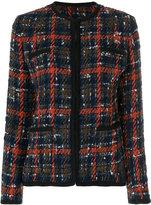 Etro tweed jacket - women - Cotton/Acrylic/Polyamide/Alpaca - 46