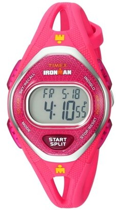 Timex IRONMAN SLEEK 50 LAP MID SIZE SILICONE WATCH - PINK