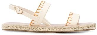 Ancient Greek Sandals Clara contrast stitch espadrilles