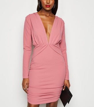 New Look Missfiga Ruched Bodycon Dress