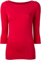 Majestic Filatures boat neck top - women - Spandex/Elastane/Viscose - III