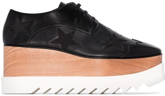 Stella McCartney 85mm Star-Embroidered Brogues