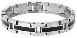Lord & Taylor Two-Tone Link Bracelet