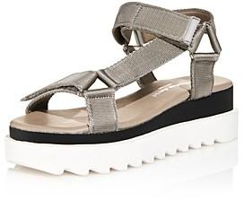 Charles David Women's Rikki Webbing Platform Sandals