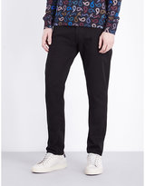 Ps By Paul Smith Tapered Mid-rise Denim Jeans
