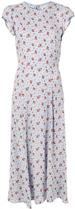 Reformation Gavin floral-print midi-dress