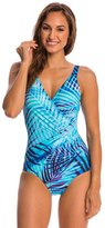 Miraclesuit Palm Reader Oceanus Soft Cup One Piece Swimsuit 8145981