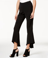 Bar III Cropped Flute-Hem Pants, Created for Macy's