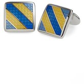 David Donahue Men's Enamel Cuff Links