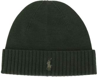 Polo Ralph Lauren ribbed knit beanie