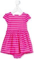 Ralph Lauren striped dress - kids - Cotton - 12 mth