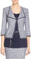 St. John Nala Tweed Knit Jacket