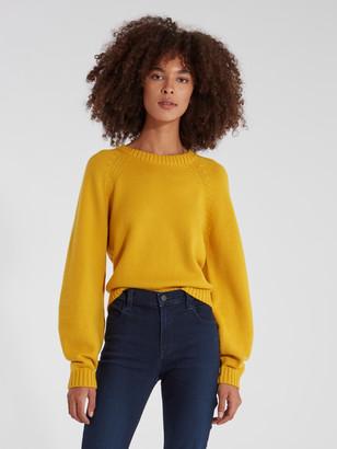 Milly Chunky Knit Varsity Sweater