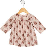 Bonpoint Girls' Printed Long Sleeve Top