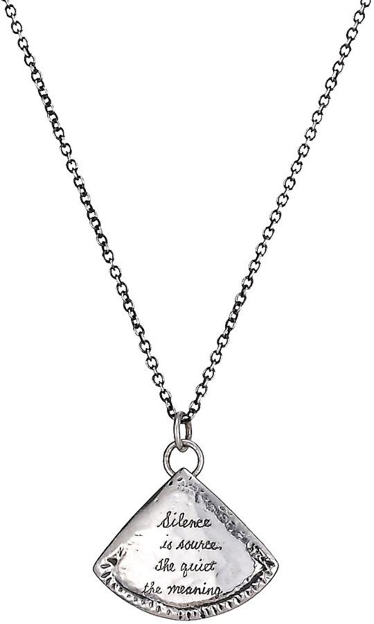 Jeanine Payer Toledo Silver Necklace