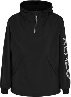 Kenzo Black logo shell jacket