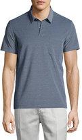 Theory Millos Short-Sleeve Pique Polo Shirt, Illumination Heat