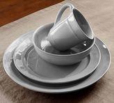 Pottery Barn Cambria 16-Piece Dinnerware Set - Gray